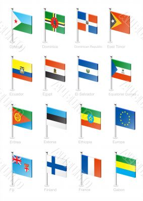 Flag icon set -part 4