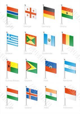 Flag icon set -part 5