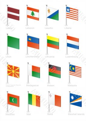 Flag icon set -part 7