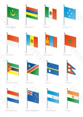 Flag icon set-part 8