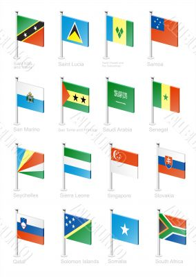 Flag icon set -part 10