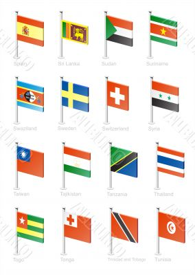 Flag icon set -part 11