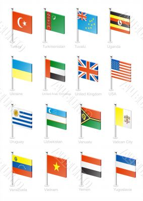 Flag icon set -part 12