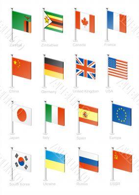 Flag icon set -part 13