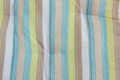 Striped material background