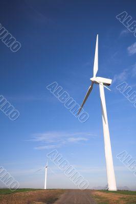 Wind powered electricity generators