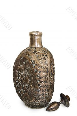 Bottle for wine (with clipping path)