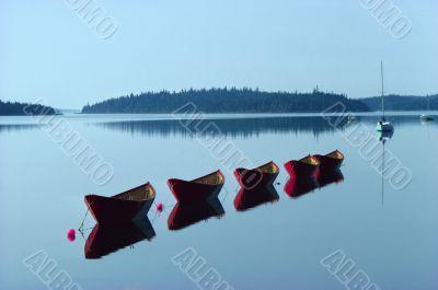 lake in Nova Scotia,  Canada