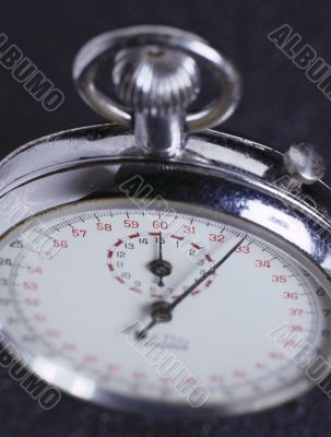 Sports Stopwatch. Close-up
