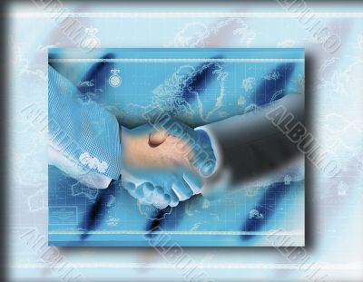 Handshake. Businesspeople