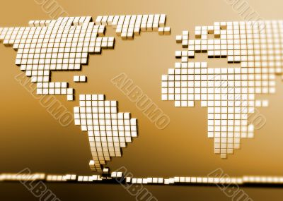 Digital Continent as a puzzle