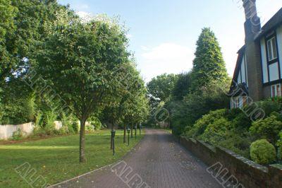 British Home Driveway