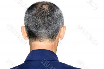 back head