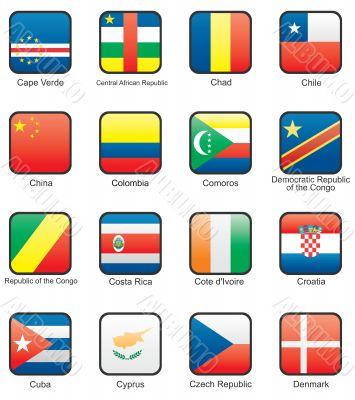 Flag icon set  part 3