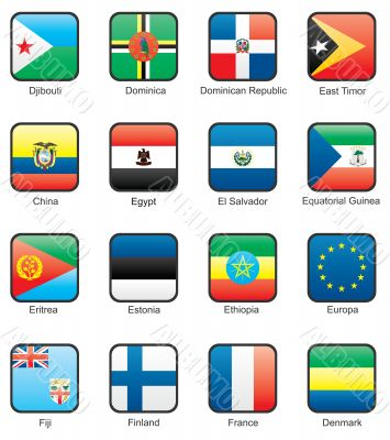 Flag icon set part 4