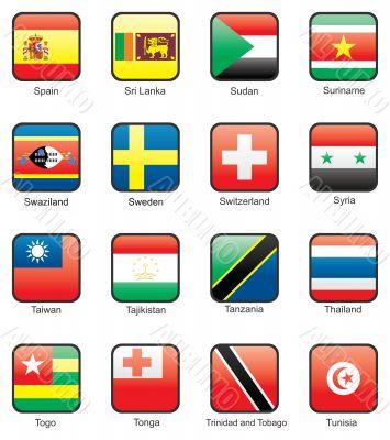 Flag icon set part 11
