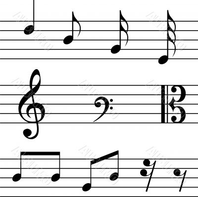 Note - music