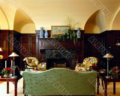living room. interior.