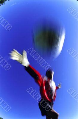 Soccer Goalie. Winner game