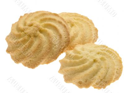 cookies. isolated with clipping path