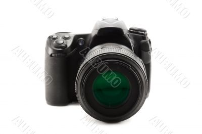 Professional digital SLR camera.