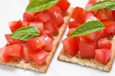 Tomato snacks