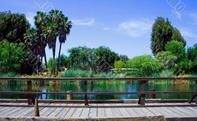 Picturesque quiet scenery