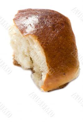 slice bun with sultana