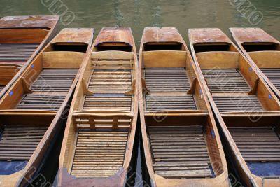Punts on Cam river