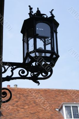 Old lantern in University