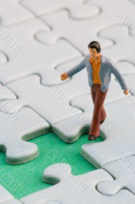 puzzle hole