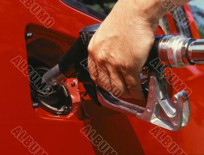 Putting Gas In A Car