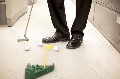 office miniature golf
