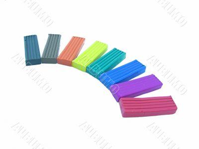 Plasticine color