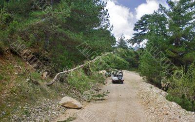 Turkey`s jeep safari