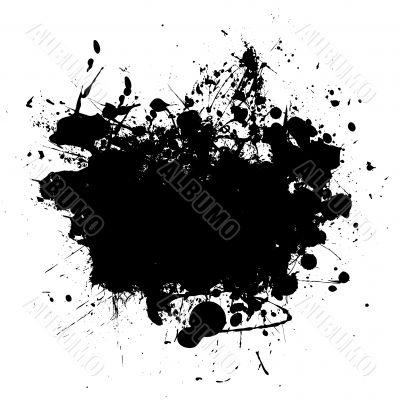 splat black copyspace