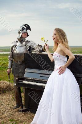 knightly romance / bride / piano