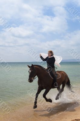 Beach Gallop / summer freedom