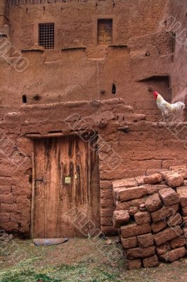 architecture of a moroccan casbah