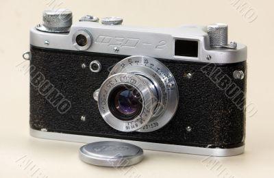 CLASSIC 35MM CAMERA. FED-2.