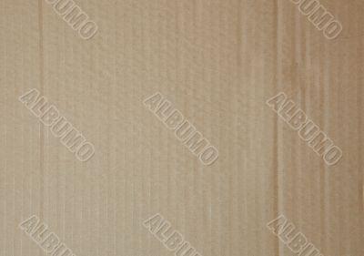 Flat cardboard background