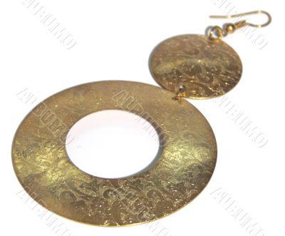 Female ornament an earring