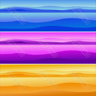 land multicoloured
