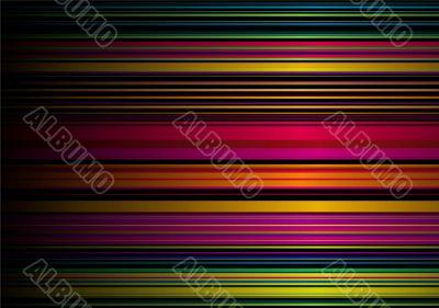 rainbow stripe glow