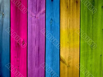 Multi-colored background