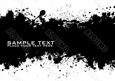 Black Text ink