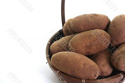 Potato, basket