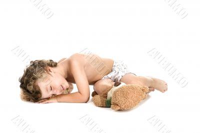 sleeper little boy