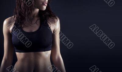 beautiful fitness body