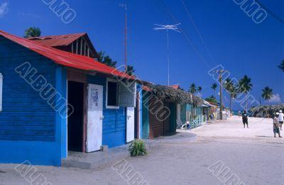 Saona island village- Dominican republic
